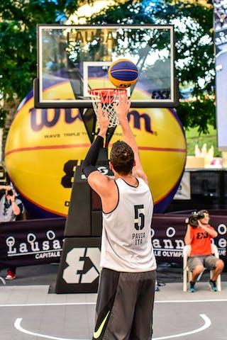 5 Damiano Verri (ITA) - Pavia v Obrenovac, 2016 WT Lausanne, Pool, 26 August 2016