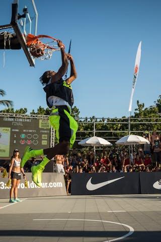 Dunk contest final 2013 FIBA 3x3 World Tour Rio de Janeiro