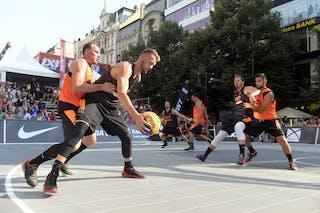 Kranj v Kolobrzeg, 2015 WT Prague, Pool, 8 August 2015