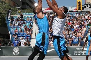 3 Daniel Mavraides (USA) - 5 Angel Matias (PUR)
