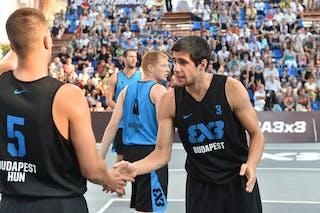 Belgrade v Budapest, 2016 WT Debrecen, Last 8, 8 September 2016