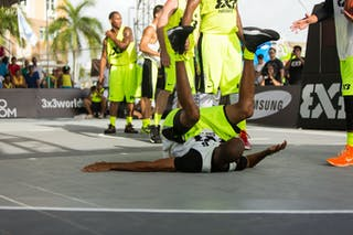 Team San Juan vs Toronto at the San Juan Masters 10-11 August 2013 FIBA 3x3 World Tour, San Juan, Puerto Rico