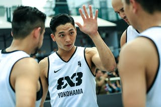 #4 Ochiai Tomoya, Team Yokohama, 2014 World Tour Beijing, 3x3game, 2-3 August.