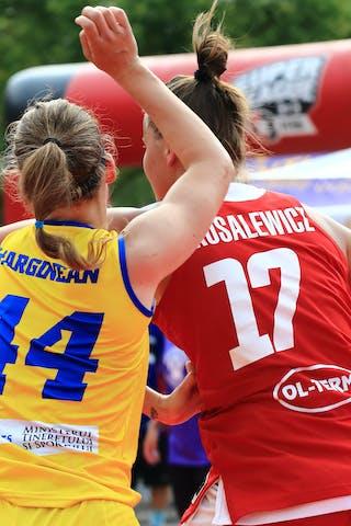 44 Gabriela Marginean (ROU) - 17 Jastina Kosalewicz (POL)