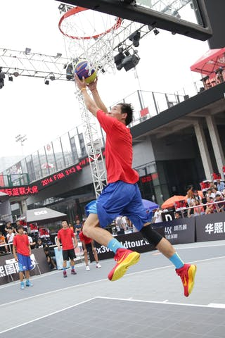 Dunk, 2014 World Tour Beijing, 3x3game, 2-3 August.