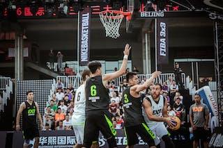 6 Marko Dugosija (UAE) - 6 Shao Hua Guo (CHN) - 3 Zhanyu Wang (CHN) - 4 Marko Zdero (UAE) - Novi Sad AlWahda v Zheng Zhou, 2016 WT Beijing, Pool, 16 September 2016