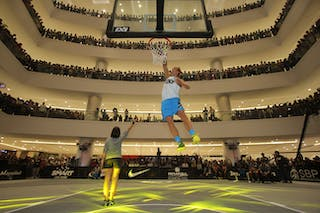 Kristaps Dargais, 2014 FIBA 3x3 World Tour, Manila Masters. 20 July. Dunk contest