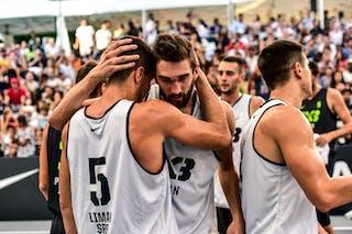 5 Damiano Verri (ITA) - 3 Andrea Negri (ITA) - 6 Stefan Kojic (SRB) - 4 Marko Brankovic (SRB) - 3 Stefan Stojačić (SRB) - 5 Aleksandar Ratkov (SRB) - Liman v Pavia, 2016 WT Lausanne, Last 8, 27 August 2016