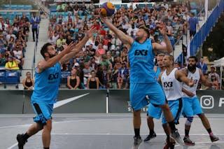 5 Inderbir Gill (JPN) - 3 Inderbir Singh Gill (JPN) - 6 Roman Zachrla (CZE) - 5 Ondřej Dygrýn (CZE) - Hamamatsu vs Humpalec at FIBA 3x3 Saskatoon 2017