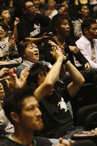 Audience, FIBA 3x3 World Tour Final Tokyo 2014, 11-12 October.