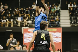 #3 Romeo Terrence Bill, Team Manila West, FIBA 3x3 World Tour Final Tokyo 2014, 11-12 October.