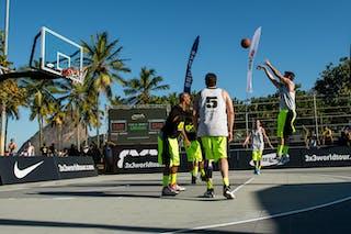 #6 SP Sorriso (Brazil) RJ Madureira (Brazil) 2013 FIBA 3x3 World Tour Rio de Janeiro