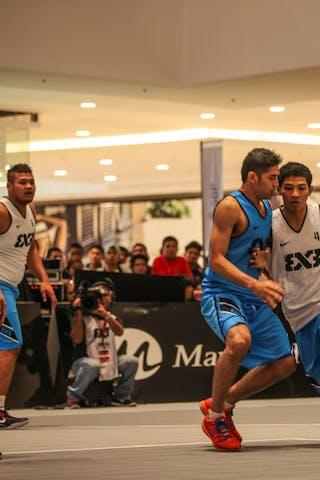 #4 Albadi Syam, Team Yogyakarta, 2014. World Tour Manila, 3x3game, 20. July.