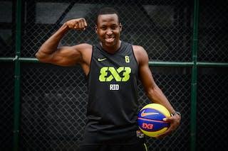 #6 Silva JR Carlos, Team Rio, FIBA 3x3 World Tour Rio de Janeiro 2014, 27-28 September.