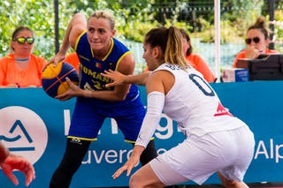 24 Ancuţa Stoenescu (ROU) - 0 Lisa Berkani (FRA)