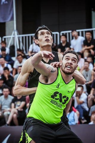 4 Qingbin Huang (CHN) - 3 John Harrison (NZL)