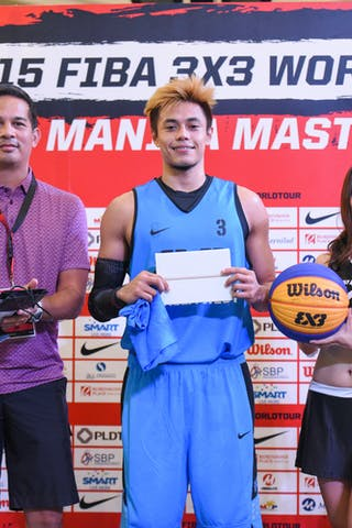 Shoot-out Final & Prize Ceremony, 2015 WT Manila, 2 August 2015