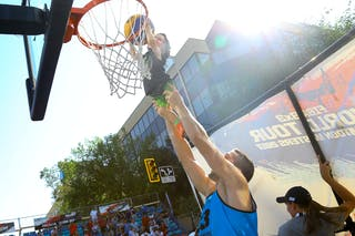 5 Michael Lieffers (CAN) - Ljublijana vs Saskatoon in the FIBA 3x3 World Tour Saskatoon 2017 final