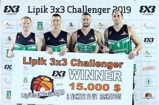 (Lipik Challenger 2019), price ceremony 1st place Vrbas