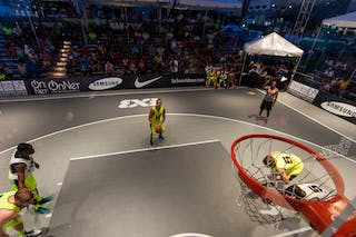 NY Staten vs Saskatoon at the San Juan Masters 10-11 August 2013 FIBA 3x3 World Tour, San Juan, Puerto Rico. Day 2
