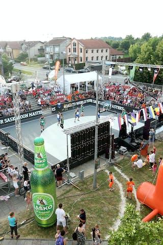 Quarter Final, Lausanne - Vrbas.