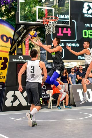 3 Andrea Negri (ITA) - 4 Marko Brankovic (SRB) - 5 Aleksandar Ratkov (SRB) - 3 Stefan Stojačić (SRB) - 6 Claudio Negri (ITA) - Liman v Pavia, 2016 WT Lausanne, Last 8, 27 August 2016