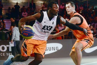 #6 Yves Bertrand Wafo Fotso, Team La marsa, FIBA 3x3 World Tour Lausanne 2014, Day 1, 29. August.