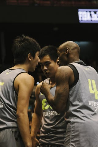 Team Wukesong, FIBA 3x3 World Tour Final Tokyo 2014, 11-12 October.