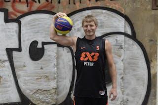 Nikolay Shangichev. Team Piter. 2014 World Tour Prague.