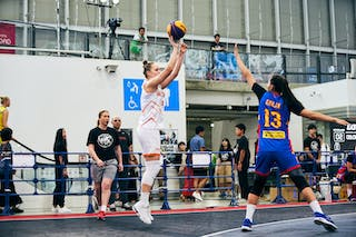 9 Esther Fokke (NED) - Game1_Mongolia vs Netherlands