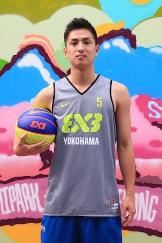 #5 Tatsuro Taniguchi, Team Yokohama, FIBA 3x3 World Tour Beijing 2014, 2-3 August.