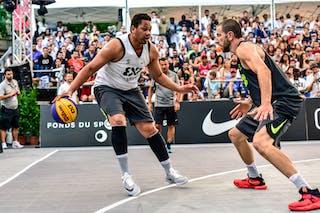 6 Maxime Courby (FRA) - 5 Yino Martinez (SUI) - Lausanne v Paris, 2016 WT Lausanne, Last 8, 27 August 2016