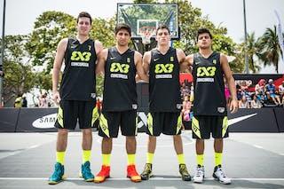 Team Concordia, FIBA 3x3 World Tour Rio de Janeiro 2014, Day 2, 28. September.