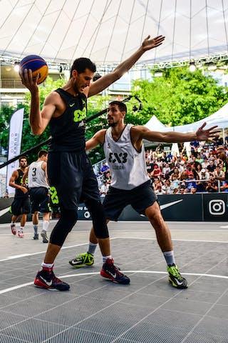 2 Gionata Zampolli (ITA) - 6 Stefan Kojic (SRB) - 3 Stefan Stojačić (SRB) - 5 Damiano Verri (ITA) - 5 Aleksandar Ratkov (SRB) - Liman v Pavia, 2016 WT Lausanne, Last 8, 27 August 2016