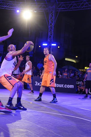 #6 Christophe Anthony, Team Menton, FIBA 3x3 World Tour Lausanne 2014, Day 1, 29. August.