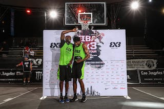 6 Zahir Carrington (USA) - 2 Kareem Maddox (USA)