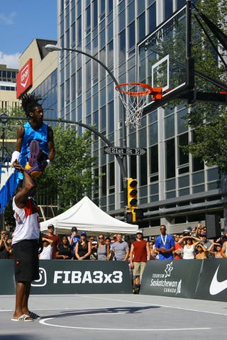 FIBA 3x3 World Tour Saskatoon 2017 dunk contest