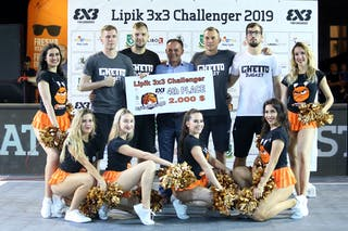 (Lipik Challenger 2019), price ceremony 4th place Ventspils Ghetto