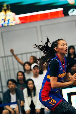 17 Alexandra Uiuiu (ROU) - 13 Khulan Onolbaatar (MGL) - Game4_Pool A_Romania vs Mongolia