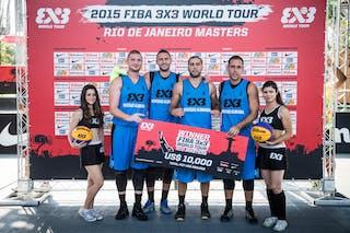 FIBA 3x3 World Tour reigning champs Novi Sad Al Wahda (UAE) won their second Masters of the season in Rio de Janeiro, Brazil on 26-27 September.