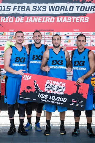 FIBA 3x3 World Tour reigning champs Novi Sad Al Wahda (UAE) won their second Masters of the season in Rio de Janeiro, Brazil on 26-27 September.