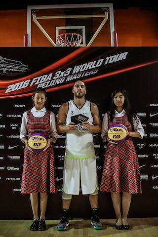 3 Dusan Domovic Bulut (UAE) - Novi Sad AlWahda v Gdansk, 2016 WT Beijing, Final, 17 September 2016