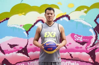 #6 Lv Chen, Team Changping, FIBA 3x3 World Tour Beijing 2014, 2-3 August.