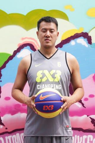 #6 Lv Chen, Team Changping, FIBA 3x3 World Tour Beijing 2014, 2-3 August.