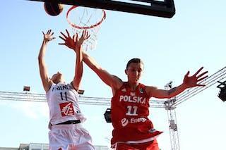 11 Ana Maria Filip (FRA) - 11 Aldona Morawiec (POL)