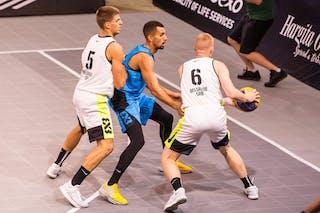 4 Connor Murtagh (GBR) - 6 Ivan Popovic (SRB) - 5 Dušan Popović (SRB)