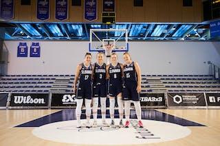 17 Ema Mihaljevičová (SVK) - 15 Monika Krajcovicova (SVK) - 8 Stella Tarkovicova (SVK) - 3 Dominika Rusiňáková (SVK)