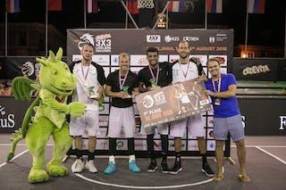 1st place Amsterdam 3x3 Ljubljana Challenger
