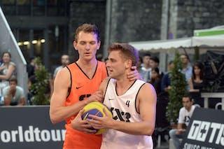 #4 Rass Marc, Team Dusseldorf, FIBA 3x3 World Tour Lausanne 2014, 29-30 August.