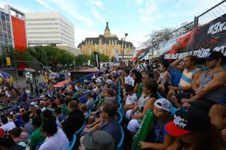 Saskatoon vs Hamilton at FIBA 3x3 Saskatoon 2017